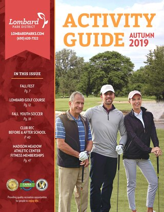 Autumn Activity Guide 2019