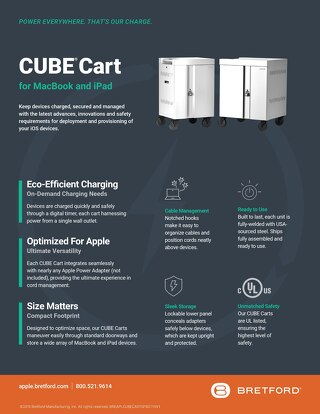 CUBE Cart for MacBook and iPad Features & Benefits