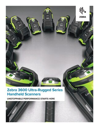 Zebra 3600 Series Scanners Brochure