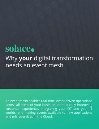 Why your Digital Transformation needs an Event Mesh