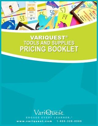 VariQuest Pricing Catalog