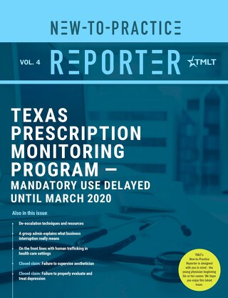 New-to-Practice Reporter 2019