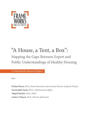 A House, a tent and a box