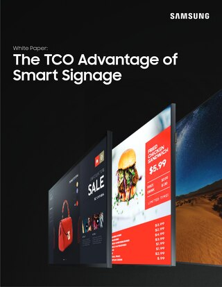 The TCO Advantage of Smart Signage