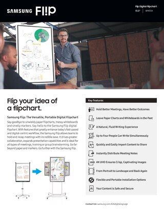 Flip Digital Flipchart - Flyer