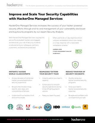 HackerOne Managed Services Brief