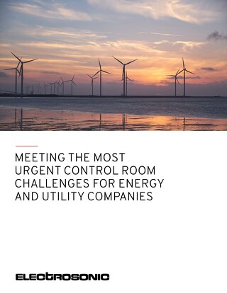Meeting the Most Urgent Control Room Challenges for Energy and Utilitiy Companies