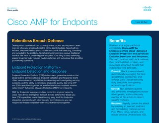 Cisco AMP for Endpoints At-A-Glance