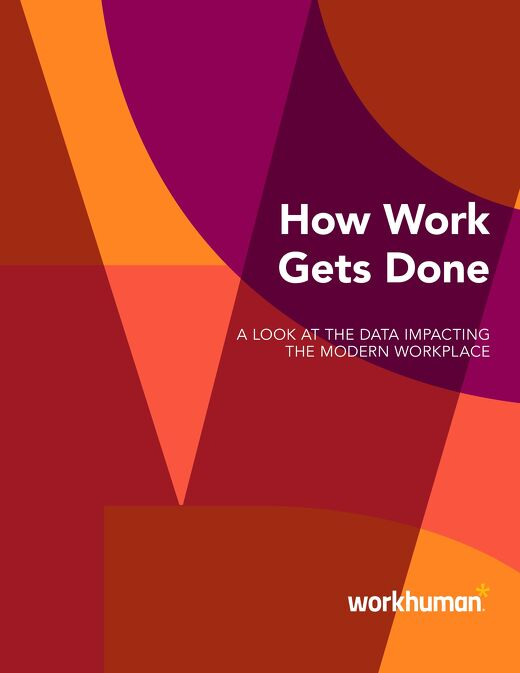 How Works Gets Done: A Look at the Data Impacting the Modern Workplace