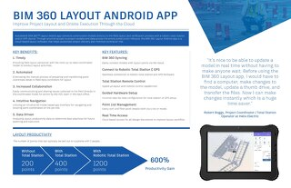 Improve Project Layout - BIM 360 Layout Android App