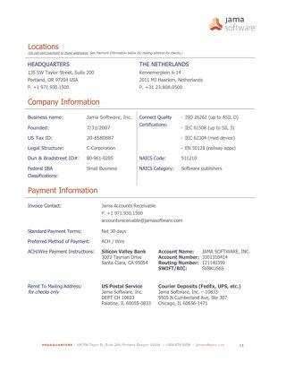 New Vendor Information