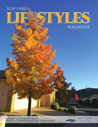 Sun Lakes Lifestyles Magazine, September 2019
