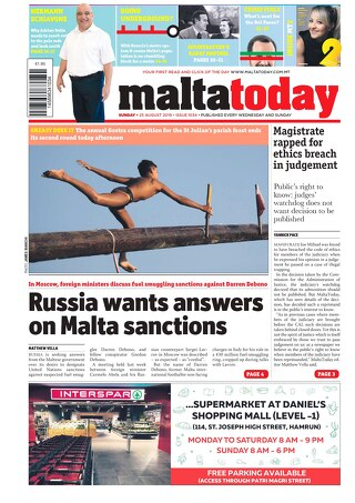 MALTATODAY 25 August 2019