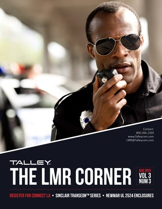 August 2019 - Talley LMR Corner