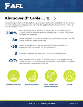 Alumoweld® Cable Benefits Brochure