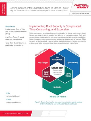Getting Secure, Intel-Based Solutions to Market Faster