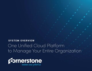 Cornerstone System Overview