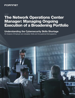 The Network Operations Center Manager: Managing Ongoing Execution of a Broadening Portfolio