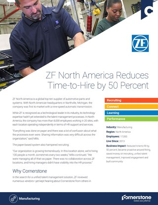 Case Study - ZF North America (EN)