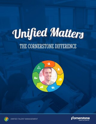 Unified Matters - The Cornerstone Difference