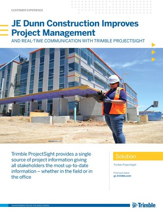 JE Dunn Construction Improves Project Management