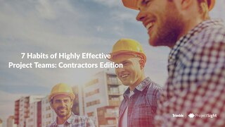7 Habits of Highly Effective Project Teams - GC Edition
