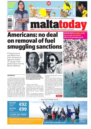 MALTATODAY 11 August 2019