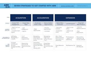 Seven Strategies - ABM is B2B