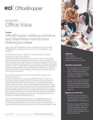 Office Value Uses OfficeShopper
