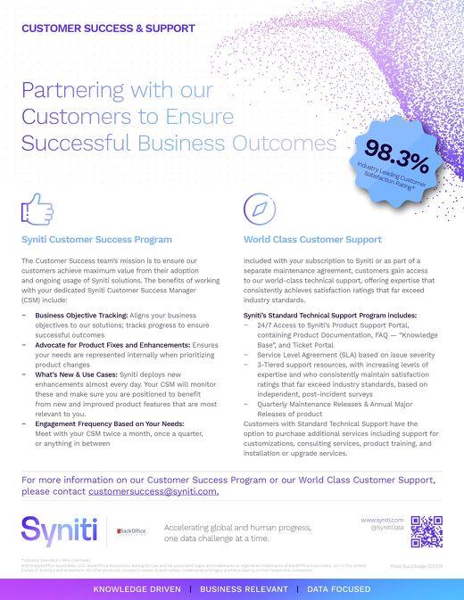 Customer Success Support