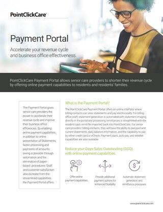 Payment Portal Solution Sheet