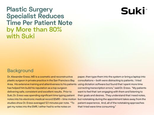 Case Study: Dr. Ereso, Plastic Surgeon