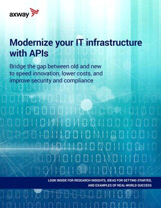 Modernize your IT infrastructure with APIs