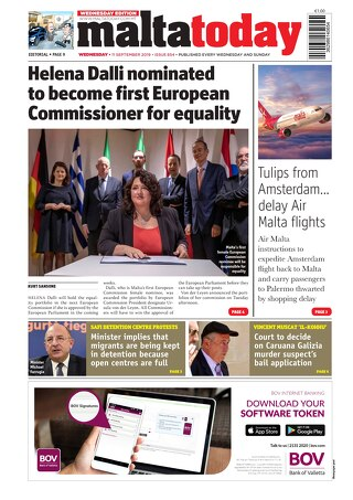 MALTATODAY 11 September 2019 Midweek