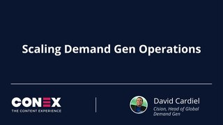 Scaling Demand Gen Operations