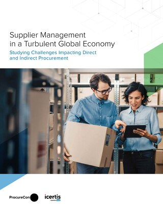 Supplier Management in a Turbulent Economy