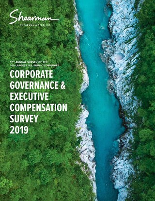 2019-corporate-governance-executive-compensation-survey
