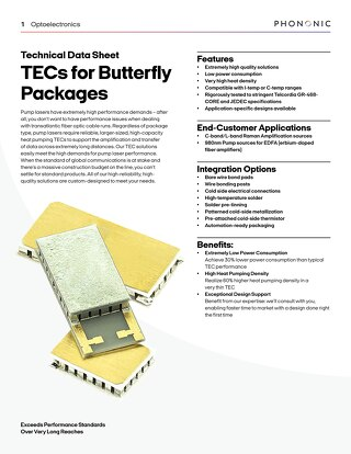 Butterfly Package Datasheet
