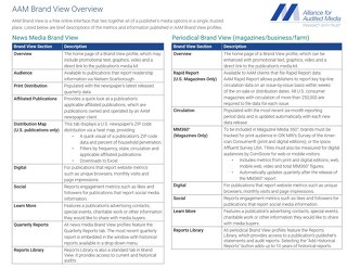 Brand View Section Overview