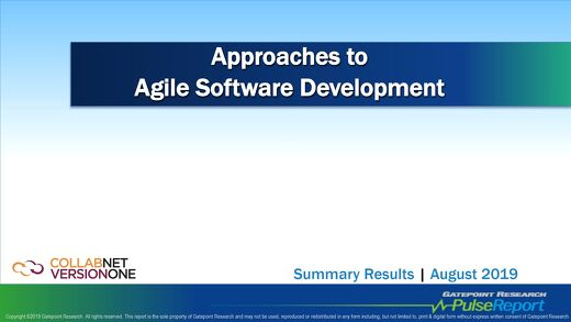 Approaches to Agile Software Development