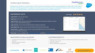 FairWarning for Salesforce Battle Cards