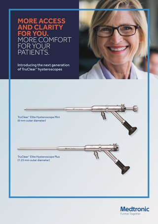 MORE ACCESS AND CLARITY FOR YOU. MORE COMFORT FOR YOUR PATIENTS.