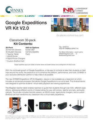VR Kit with Bretford, Magellan, Homido and ASUS