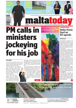 MALTATODAY 15 September 2019