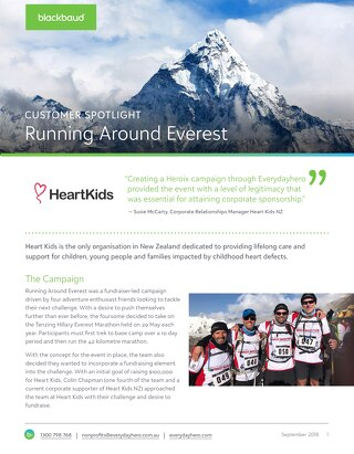 Heart Kids - Running Around Everest