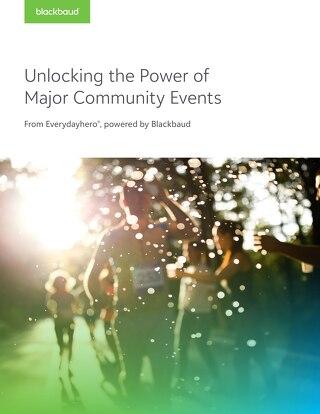 Unlocking The Power Of Major Community Events