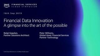 Financial data innovation platform