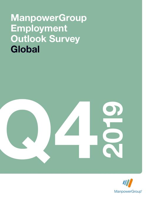 ManpowerGroup Employment Outlook Survey Q4 2019