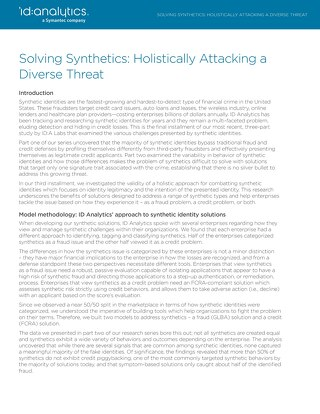 Solving Synthetics: Holistically Attacking a Diverse Threat