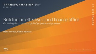 Building an effective Cloud Finance Office